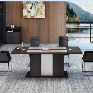 bàn họp gỗ công nghiệp (