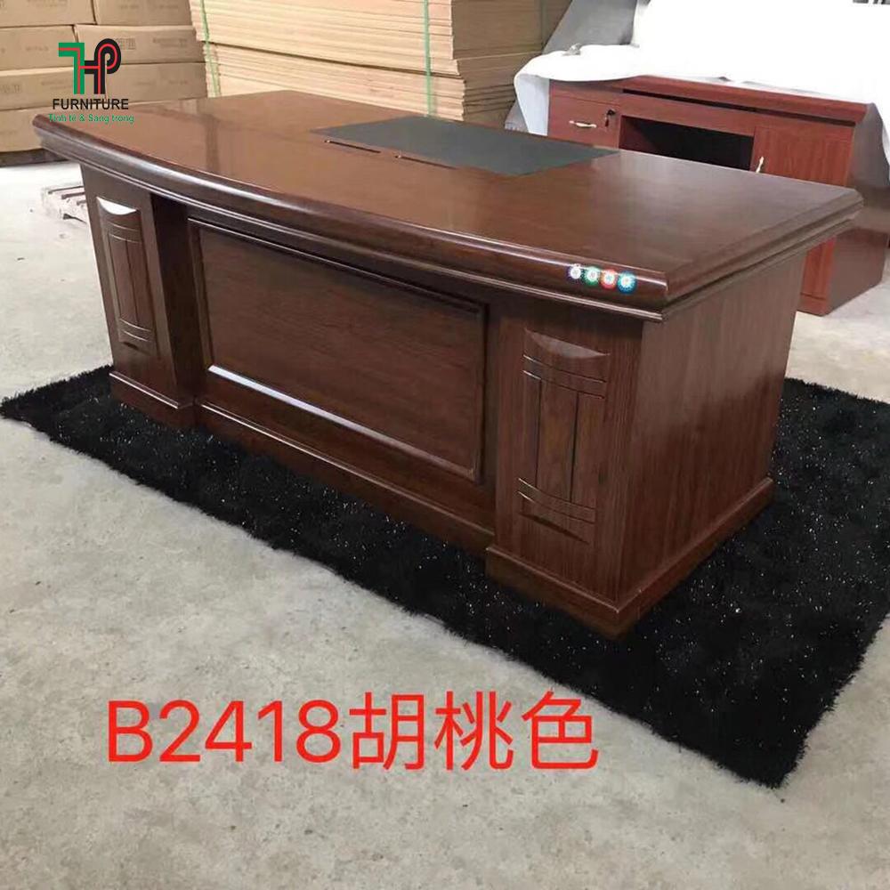 bộ bàn giám đốc gỗ công nghiệp