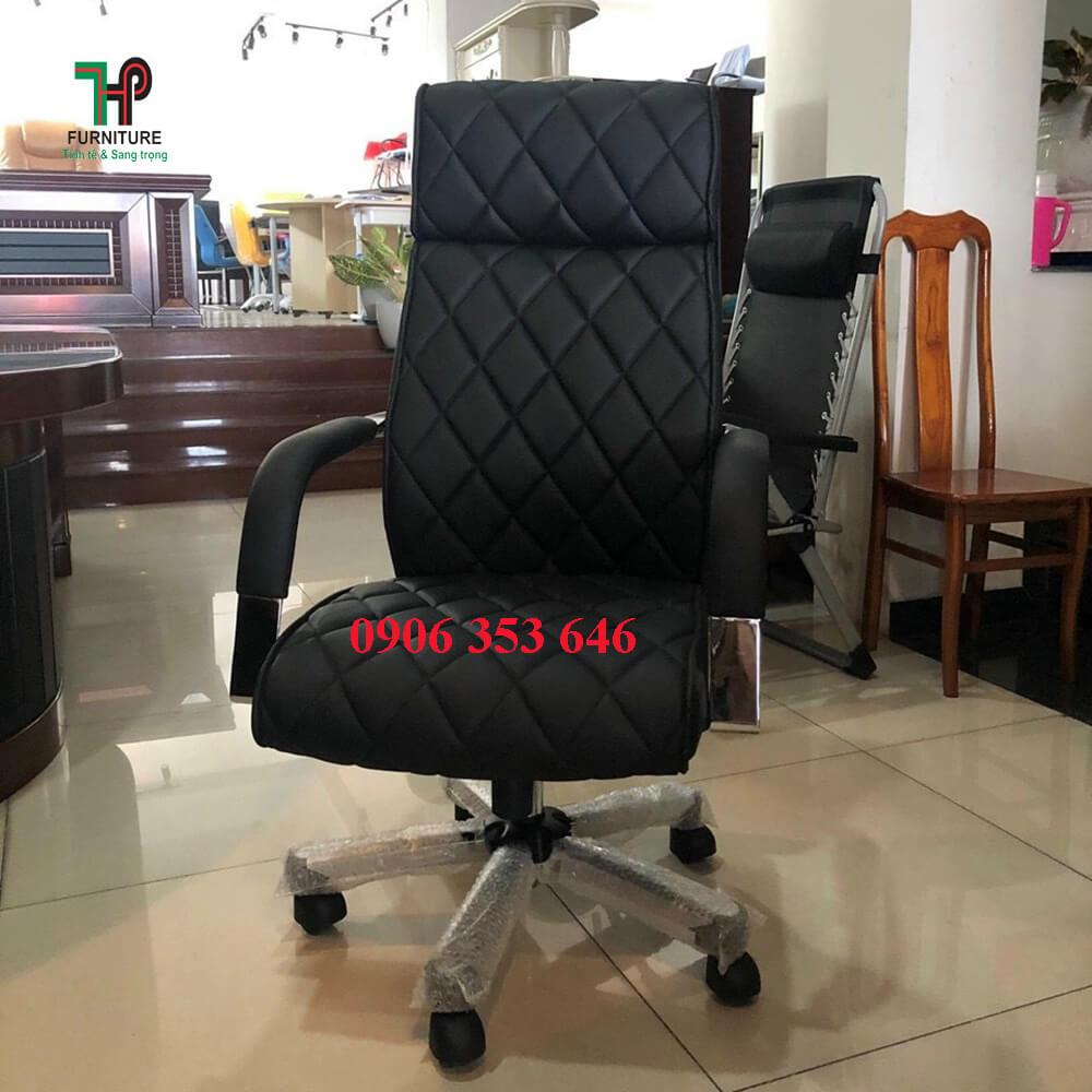 ghế văn phòng cao cấp màu đen